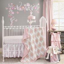 Charlotte 4 Piece Crib Bedding Set