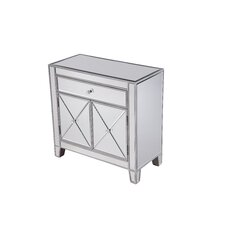 Contempo 1 Drawer 2 Door Accent Cabinet