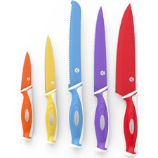 5 Piece Chef Knife Set