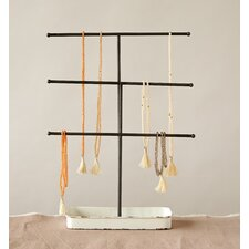 "15.38"" Bungalow Lane Metal Jewelry Stand"