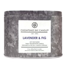 Heritage Double Wick Lavender and Fig Jar Candle
