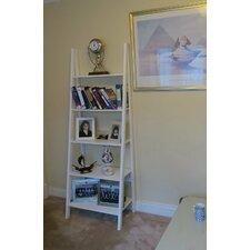 5-Tier Wooden Storage Ladder 180cm Bookcase