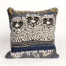 Folsom Owls Night Throw Pillow