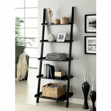 "72"" Leaning Bookcase"