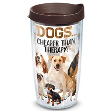 Pets Dog Therapy Insulated Tumbler