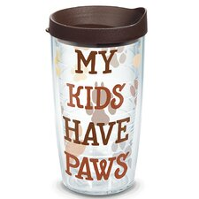 Pets My Kids have Paws Insulated Tumbler