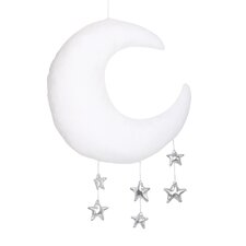 Moon and Star Ceiling Mobile