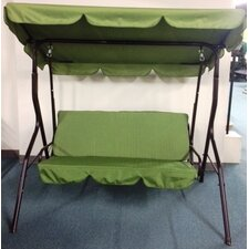3 Seat Sage Pad Porch Swing with Canopy
