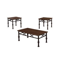 Charles 3 Piece Coffee Table Set