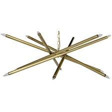 Ikram Metal 10-Light Sputnik Chandelier