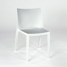 Demi Armless Stacking Chair (Set of 4)