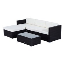 Camron Lounge Seating Group with Cushion