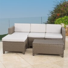 5 Piece Stylish Seating Group with Cushion