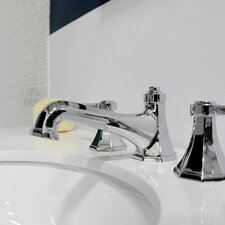 Opera Widespread Bathroom Faucet with Drain Assembly