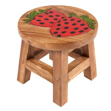 Strawberry Children's Stool