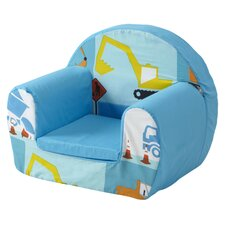 Construction Children's Foam Chair