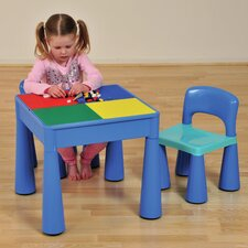 3-tlg. Kinder Tisch und Stuhl-Set Versatile