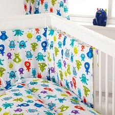 Monsters 3 Piece Cot Bedding Set