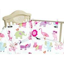 Cute Pets 3 Piece Cot Bedding Set