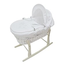 Hanging Ted Moses Basket with Stand