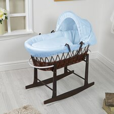 Waffle Moses Basket with Stand