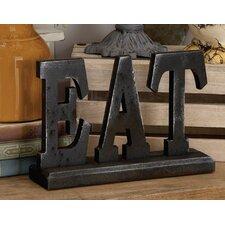 Wood Eat Letter Block