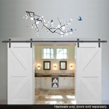 Double Barn Door Hardware (Set of 2)