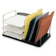 "Desk Combo Organizer,Vert./Horz. Pckts,6-1/4""x11""x8-1/4"",CCL"