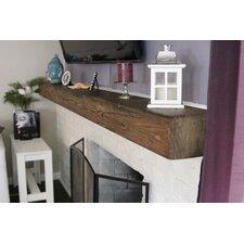 Rustic Fireplace Shelf Mantel