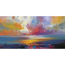 'Uig Clouds' by Scott Naismith Print on Canvas