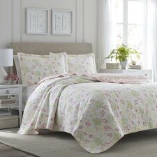 Harmony Coast Reversible Quilt Set by Tommy Bahama Bedding