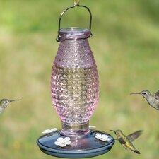 Hobnail Vintage Hummingbird Feeder