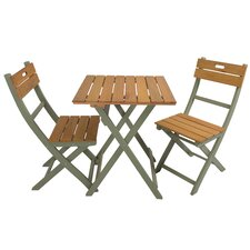 Osier 2 Seater Bistro Set