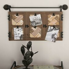 Wood/Metal Wall Picture Frame