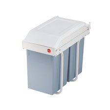 Hailo Multi-Box 30L Built-in Waste Separation Bin with 2 Bins