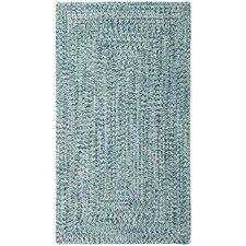 Lemon Grove Blue Outdoor Area Rug