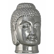 Titanium Medium Buddha Bust