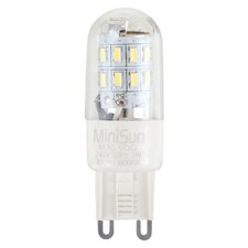 3W G9 LED Light Bulb (Set of 3)