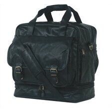 """Highland II Series 15"""" Leather Carry-On Duffel"""