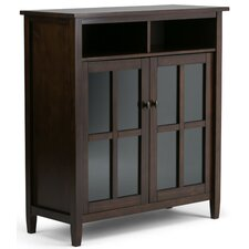 Warm Shaker Medium Storage Multimedia Cabinet
