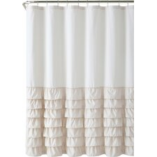 Peeples Ruffle Shower Curtain