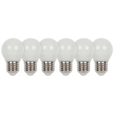 6-tlg. LED-Set E27 40W Matt
