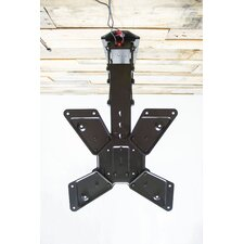 """Electric Motorized Flip Down Pitched Roof Tilt Ceiling Mount for 23""""-55"""" LCD"""