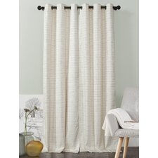 Jacana Solid Blackout Grommet Curtain Panels (Set of 2)