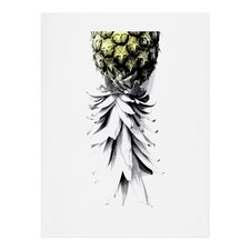 Pineapple 1 Mexican Graphic Art