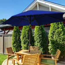11' SunBlok Patio Market Umbrella with Tilt Aluminum Pole
