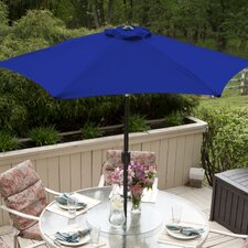 SunBlok Patio Market Umbrella with Tilt Aluminum Pole