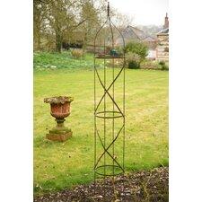2 Piece Metal Garden Obelisk Set