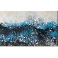 Deluge Framed Painting Print on Canvas