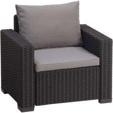 California Armchair with Cushions (Set of 2)